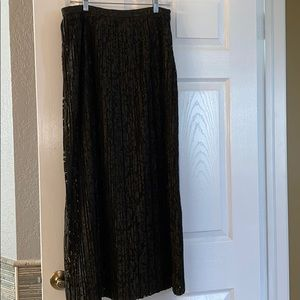 Banana Republic Dark Green Maxi Skirt
